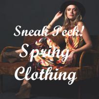 Clothing ~ Sneak Peek!