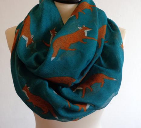 fox-print-infinity-scarf