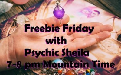 Psychic Sheila will be doing her 'Freebie Friday Show' on Facebook …live from Eyes Of The World Imports on Nov 16th!