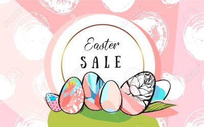 EASTER EGG-STRA SALE! April 18th-22nd Make Your Purchase Selections Then Pick An Egg To Receive The Discount Inside… SAVE 10-30% OFF!