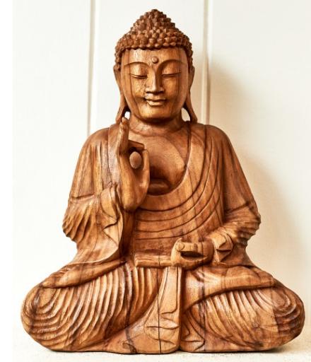 statue buddha wood