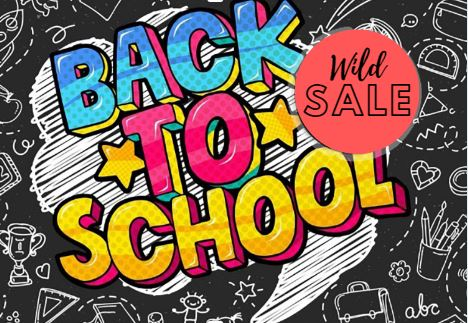 Back To School Sale!!!