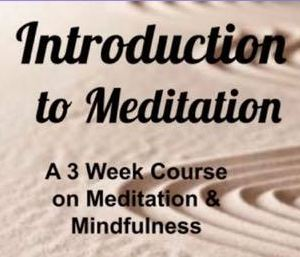 Introduction To Meditation ~ Oct 9th, 16th, 23rd @ Eyes Of The World Imports Studio Space